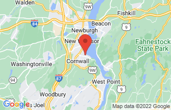 Map of Cornwall on Hudson