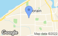 Map of Lorain, OH
