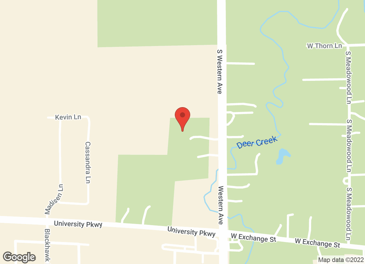 Google Map of VCA Forest South Animal Hospital