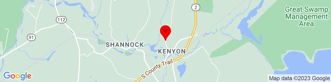 Google Map of 41.4495902, -71.6270615