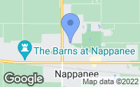 Map of Nappanee, IN