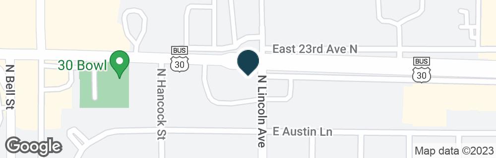Google Map of1525 E 23RD ST