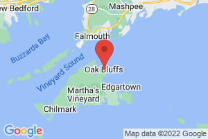 Map of Oak Bluffs