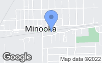 Map of Minooka, IL