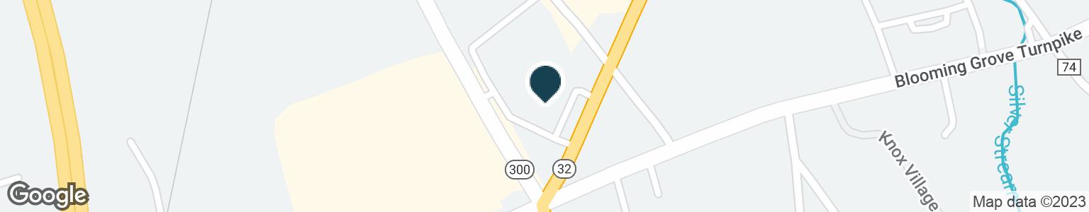 Google Map of416 WINDSOR HWY