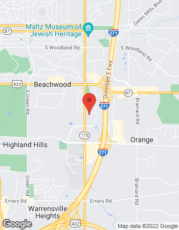 Map of Donald Denault - TIAA Financial Consultant at 3000 Auburn Drive, Beachwood, OH 44122