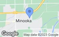 Map of Minooka, IL