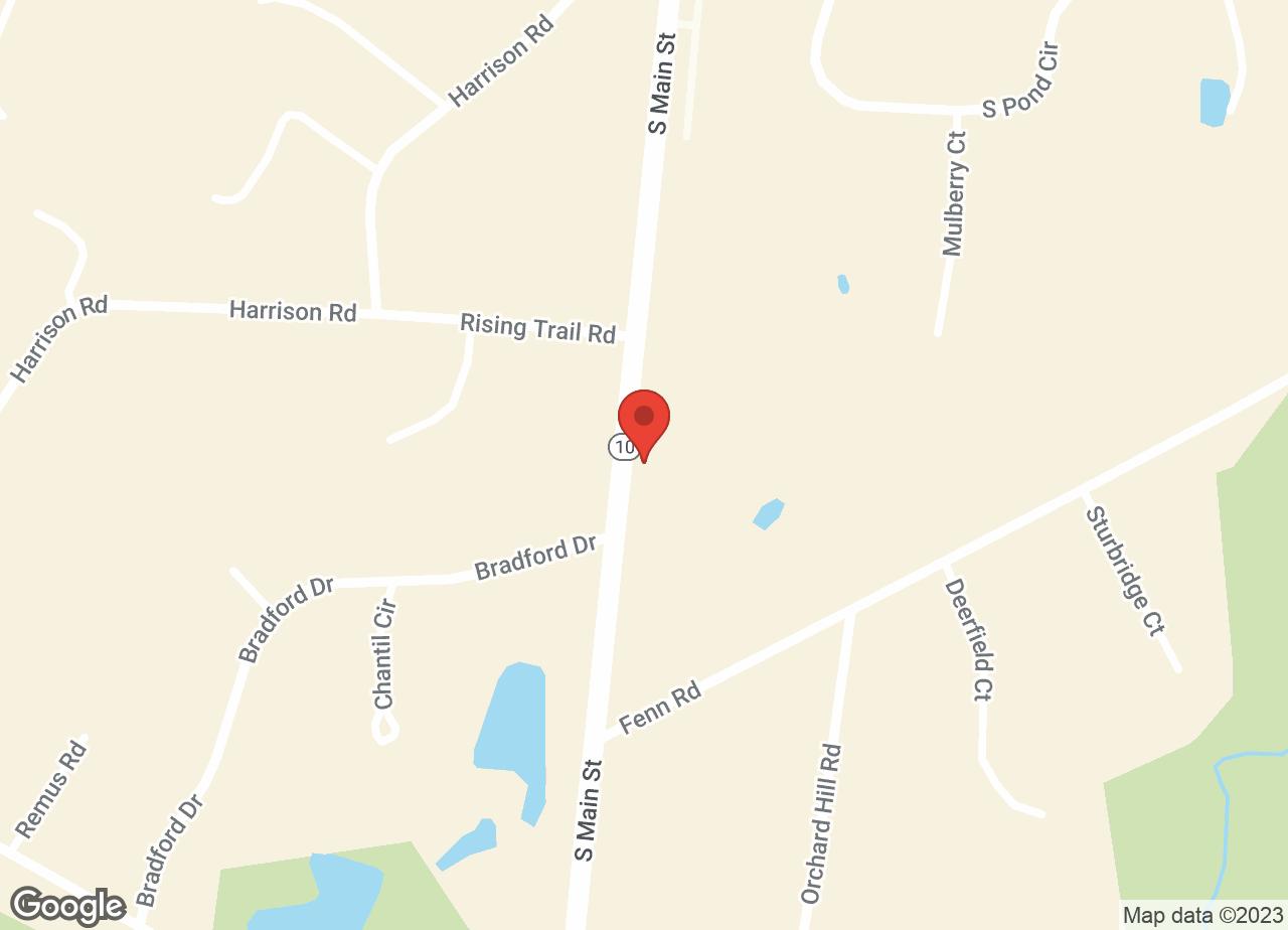 Google Map of VCA Cheshire Animal Hospital