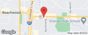 Map of 27970 Chagrin Blvd in Woodmere
