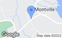 Map of Montville, CT
