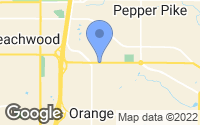 Map of Woodmere, OH