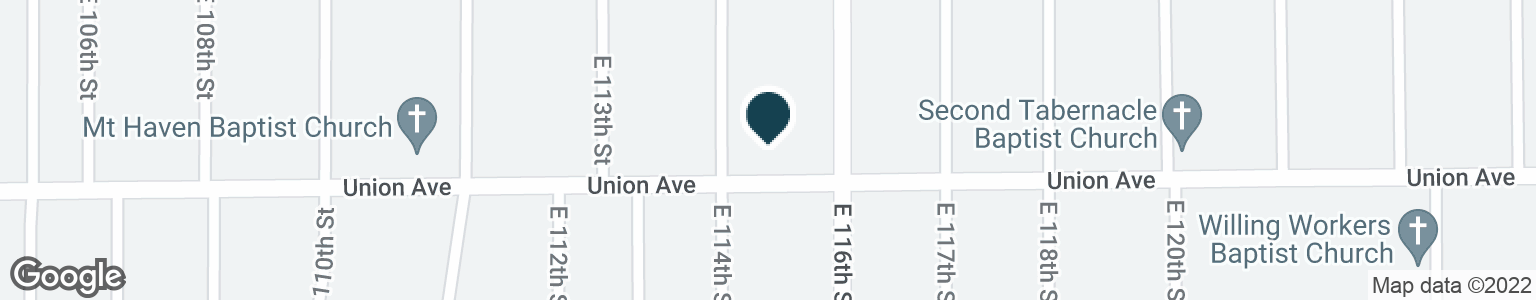 Google Map of11401 UNION AVE