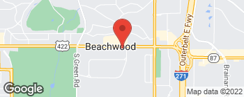 Map of 24500 Chagrin Blvd in Beachwood