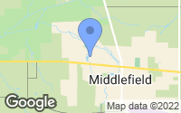 Map of Middlefield, OH