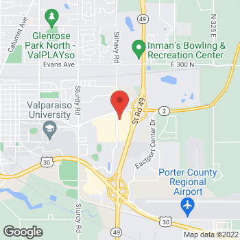 Map of Noodles & Company at 71 Silhavy Rd, Valparaiso, IN 46383
