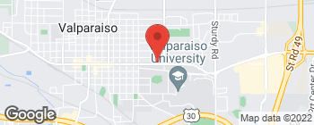 Map of 829 Lincolnway in Valparaiso