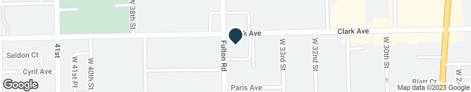 Google Map of3415 CLARK AVE