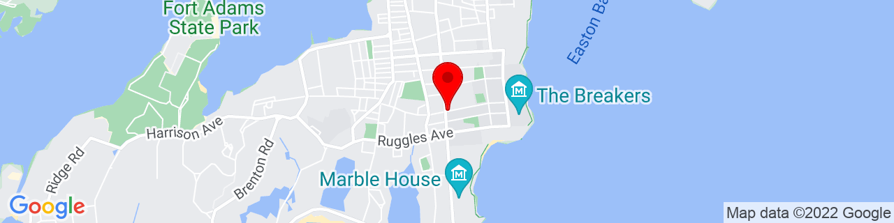 Google Map of 41.4700589, -71.30705329999999