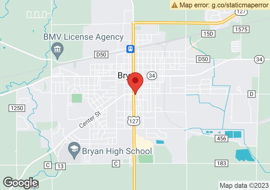 Google Map of 403 S MAIN ST
