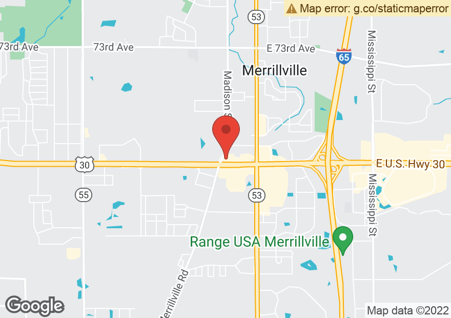 Google Map of 400 W LINCOLN HWY