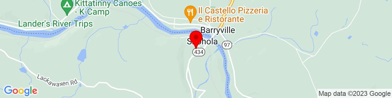Google Map of 41.4734935, -74.9169925