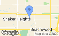 Map of Shaker Heights, OH