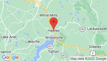 Map of Hawley