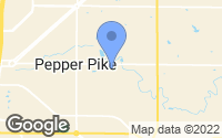Map of Pepper Pike, OH