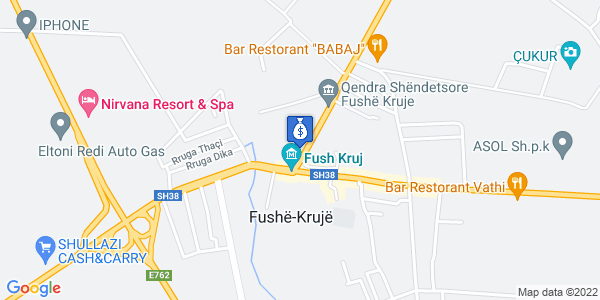 Google Map of Rruga e Laçit 24, Fushë-Kruje, Αλβανία