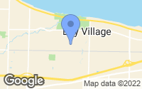 Map of Bay Village, OH