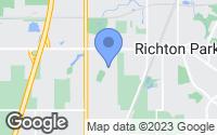 Map of Richton Park, IL