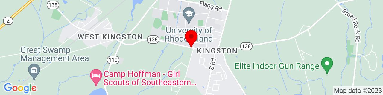Google Map of 41.4810041, -71.5299787