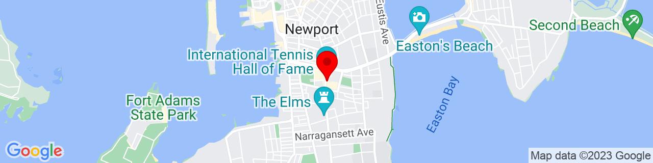 Google Map of 41.481955, -71.30824799999999