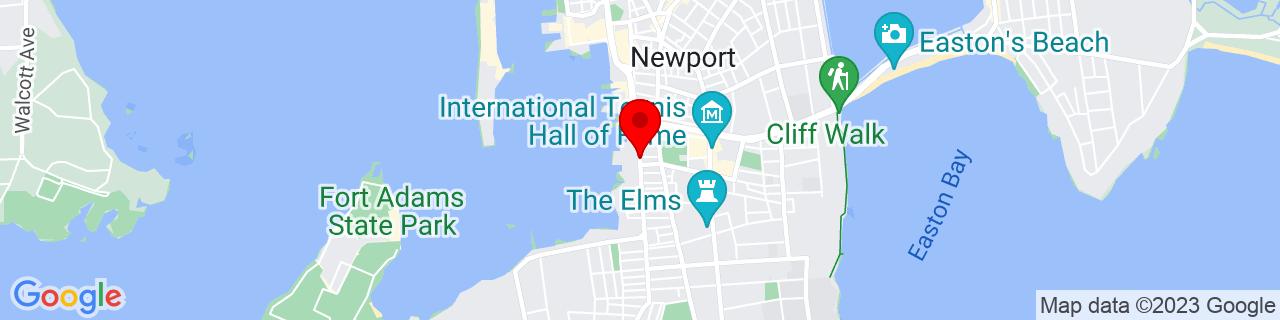 Google Map of 41.4820229, -71.3144866