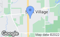 Map of Sauk Village, IL