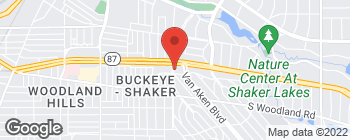 Map of 2775 S Moreland Blvd in Cleveland