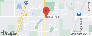 Map of 4759 Sauk Trail in Richton Park