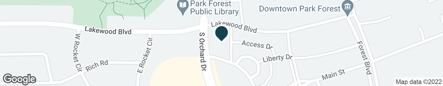 Google Map of15 S ORCHARD DR