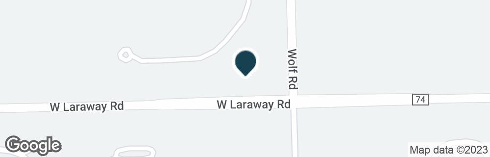 Google Map of11200 W LARAWAY RD