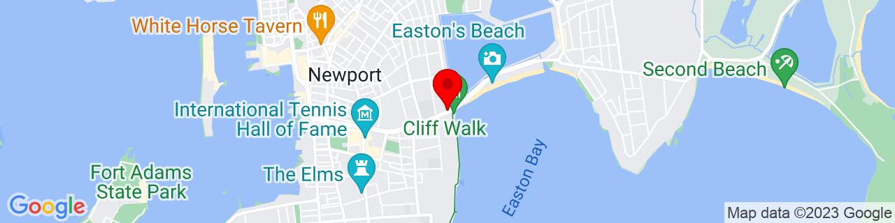 Google Map of 41.4852356, -71.2981382