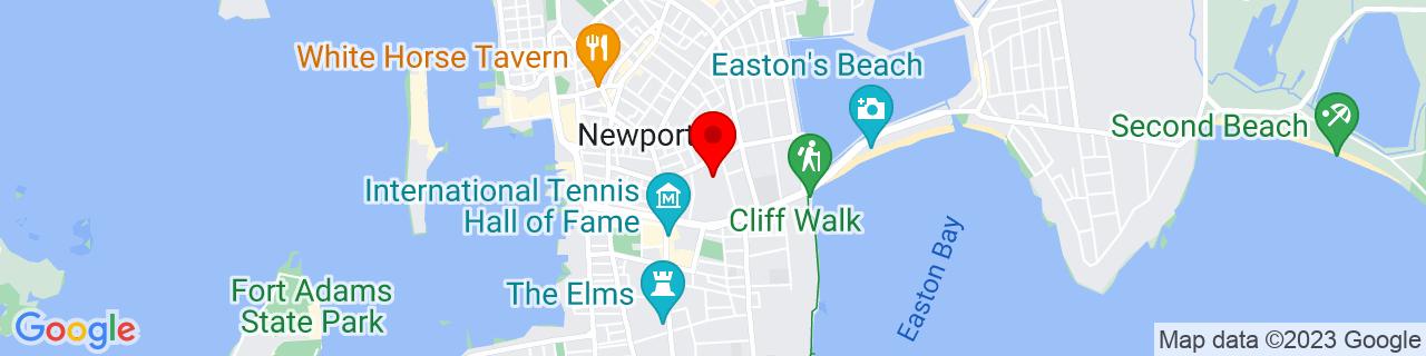 Google Map of 41.486049, -71.304863