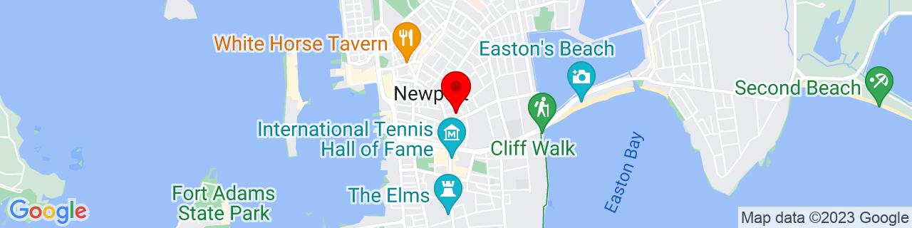 Google Map of 41.4867088, -71.3078079