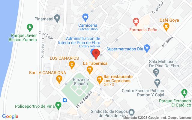 Administración nº1 de Pina de Ebro