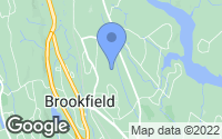 Map of Brookfield, CT