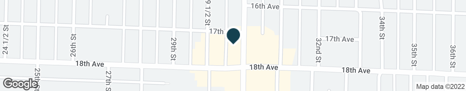 Google Map of2955 18TH AVE