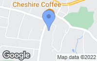 Map of Cheshire, CT