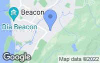 Map of Beacon, NY