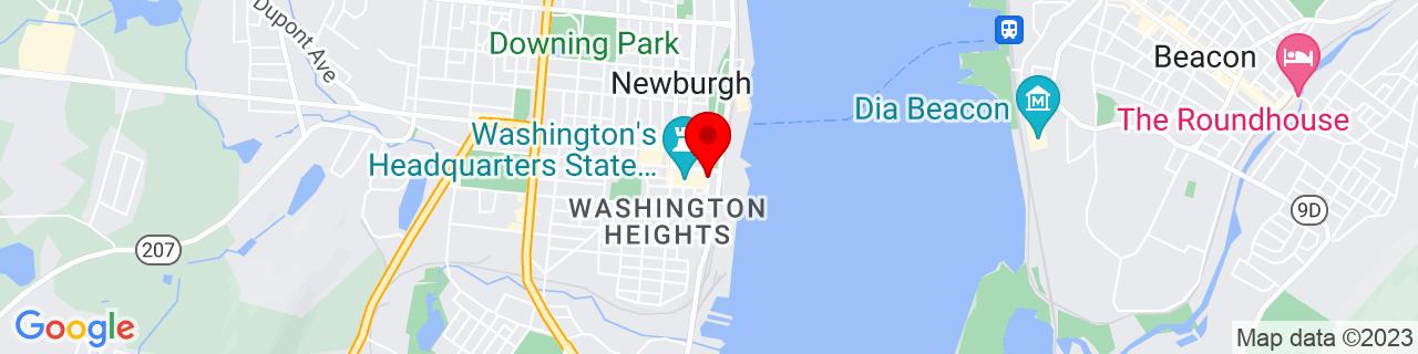 Google Map of 41.4977242, -74.0080715
