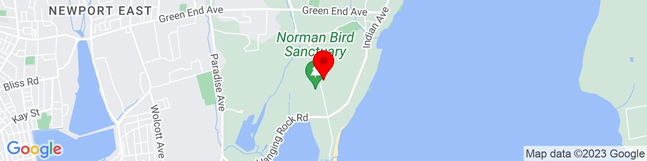 Google Map of 41.5005049, -71.2497999