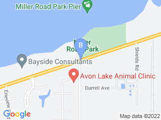 Map of Paws By The Lake Dog Boarding options in Avon Lake | Boarding